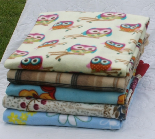 Handmade Fleece Blankets