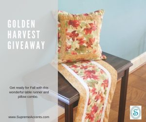 Golden Harvest Giveaway Blog Cover