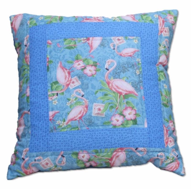 Supreme Accents Flamingo Pillow