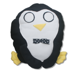 Peter Penguin Pillow