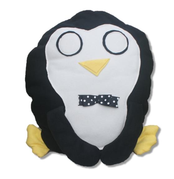 Peter Penguin Pillow